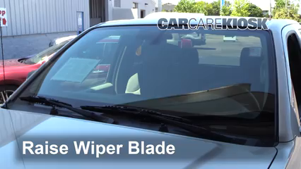 2013 Nissan Frontier SV 2.5L 4 Cyl. Extended Cab Pickup Windshield Wiper Blade (Front)