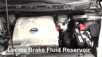 2013 Nissan Leaf SL Electric Brake Fluid