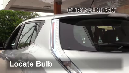 2013 Nissan Leaf SL Electric Lights