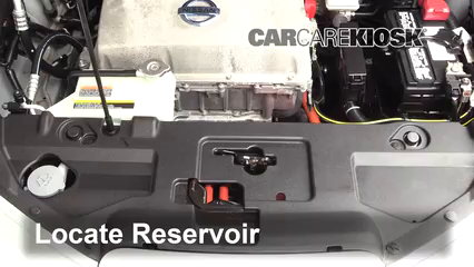 2013 Nissan Leaf SL Electric Windshield Washer Fluid