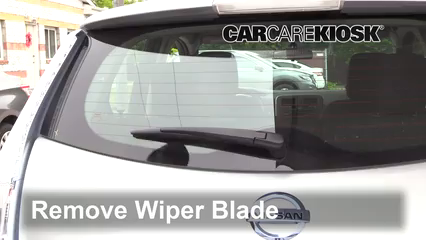 2013 Nissan Leaf SL Electric Windshield Wiper Blade (Rear)