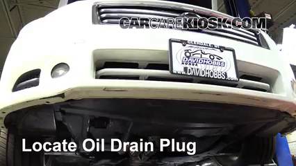 2013 Nissan Maxima SV 3.5L V6 Oil Change Oil and Oil Filter