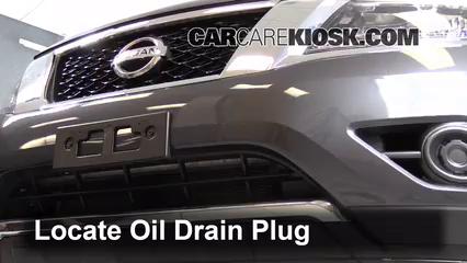 Cambio de fusible de Nissan Pathfinder 2013-2019 - 2013
