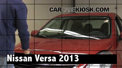 2013 Nissan Versa 1.6 SL 1.6L 4 Cyl. Review
