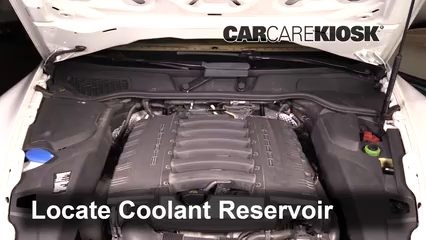 How To Add Coolant Porsche Cayenne 2011 2018 2013