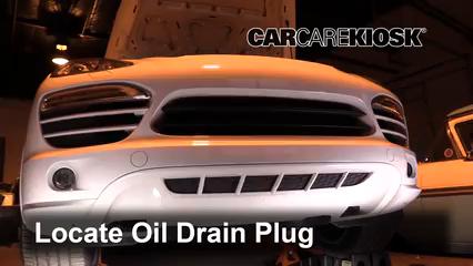 Oil Filter Change Porsche Cayenne 2011 2018 2013