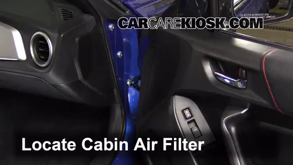 2013 Subaru BRZ Limited 2.0L 4 Cyl. Air Filter (Cabin)
