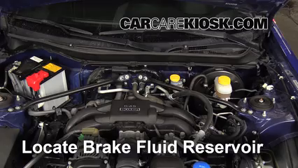 2013 Subaru BRZ Limited 2.0L 4 Cyl. Brake Fluid