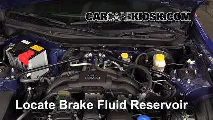 Add Brake Fluid: 2013-2019 Subaru BRZ - 2013 Subaru BRZ
