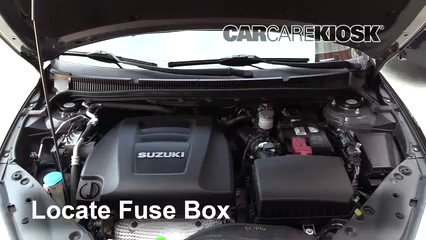 Replace a Fuse: 2010-2013 Suzuki Kizashi - 2013 Suzuki Kizashi GTS 2.4L 4  Cyl.CarCareKiosk