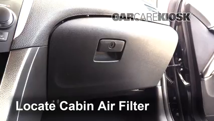 2013 Suzuki Kizashi GTS 2.4L 4 Cyl. Air Filter (Cabin)