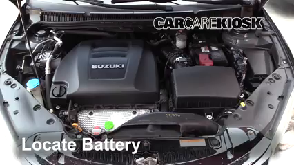 2013 Suzuki Kizashi GTS 2.4L 4 Cyl. Battery