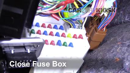 interior fuse box location: 2007-2013 suzuki sx4 - 2007 suzuki sx4 sport  2 0l 4 cyl