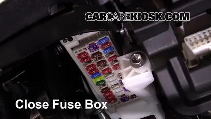 Interior Fuse Box Location: 2012-2015 Toyota Prius Plug-In ...