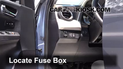 Interior Fuse Box Location 2013 2017 Toyota RAV4 2013