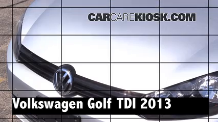 2013 Volkswagen Golf TDI 2.0L 4 Cyl. Turbo Diesel Hatchback (4 Door) Review