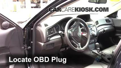 2013 Acura ILX 2.0L 4 Cyl. Lumière « Check engine » du moteur