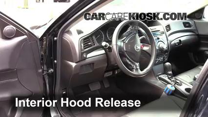 2013 Acura ILX 2.0L 4 Cyl. Capot