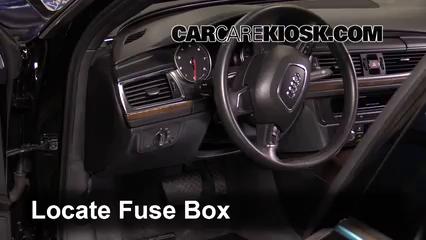 2013 Audi A6 Quattro Premium 3.0L V6 Supercharged Fusible (intérieur)