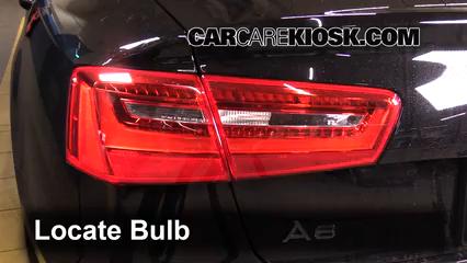 2013 Audi A6 Quattro Premium 3.0L V6 Supercharged Luces Luz de niebla (reemplazar foco)