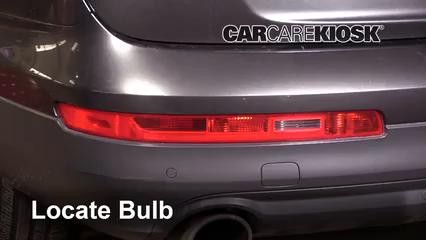 2013 Audi Q7 Premium 3.0L V6 Supercharged Luces Luz de reversa (reemplazar foco)