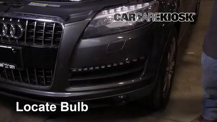 2013 Audi Q7 Premium 3.0L V6 Supercharged Luces Luz de giro delantera (reemplazar foco)