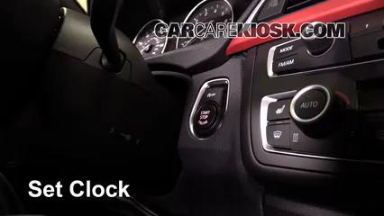 2013 BMW 335i xDrive 3.0L 6 Cyl. Turbo Sedan Clock