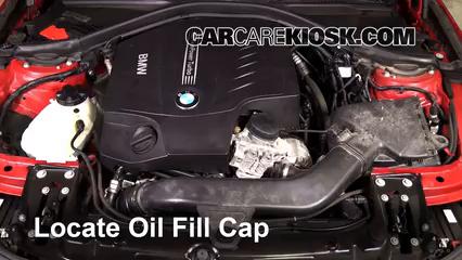2013 BMW 335i xDrive 3.0L 6 Cyl. Turbo Sedan Huile