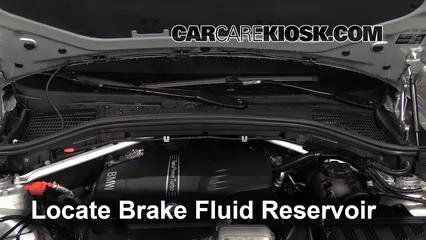 2013 BMW X3 xDrive28i 2.0L 4 Cyl. Turbo Brake Fluid
