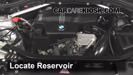 2013 BMW X3 xDrive28i 2.0L 4 Cyl. Turbo Windshield Washer Fluid