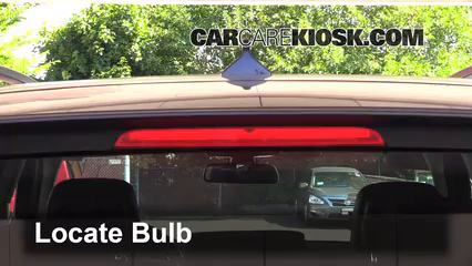 2013 BMW X5 xDrive35i 3.0L 6 Cyl. Turbo Luces Luz de freno central (reemplazar foco)