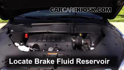 2013 Buick Enclave 3.6L V6 Brake Fluid