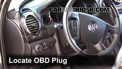 2013 Buick Enclave 3.6L V6 Check Engine Light