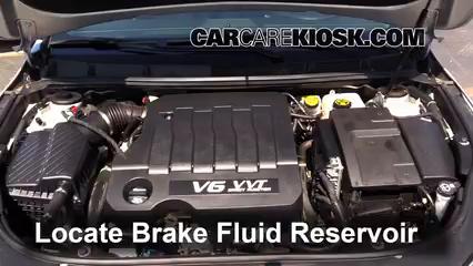 2013 Buick LaCrosse 3.6L V6 FlexFuel Brake Fluid
