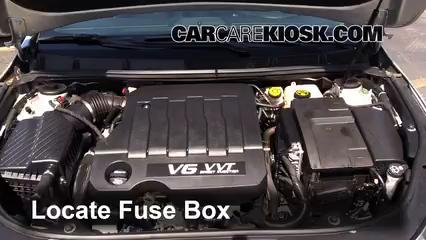 2013 Buick LaCrosse 3.6L V6 FlexFuel Fuse (Engine)