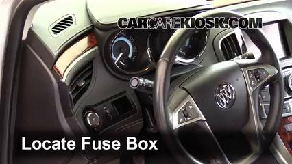 2013 Buick LaCrosse 3.6L V6 FlexFuel Fuse (Interior)