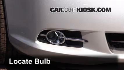 2013 Buick LaCrosse 3.6L V6 FlexFuel Luces Luz de niebla (reemplazar foco)