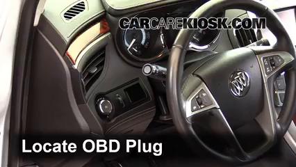 2013 Buick LaCrosse 3.6L V6 FlexFuel Check Engine Light