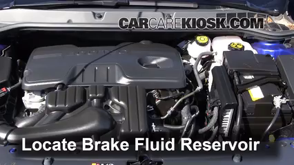 2013 Buick Verano 2.4L 4 Cyl. FlexFuel Líquido de frenos