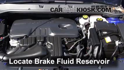 2013 Buick Verano 2.4L 4 Cyl. FlexFuel Liquide de frein
