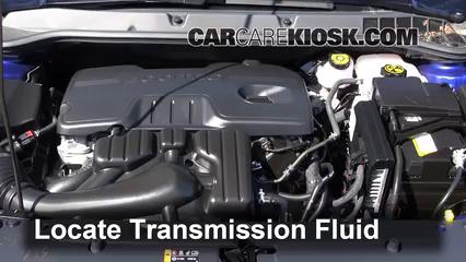 2013 Buick Verano 2.4L 4 Cyl. FlexFuel Líquido de transmisión