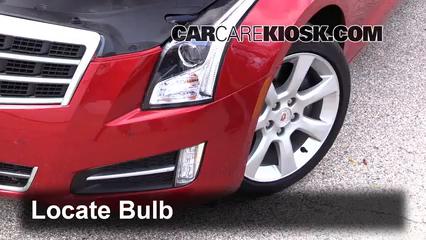 2013 Cadillac ATS Performance 3.6L V6 FlexFuel Luces Luz de niebla (reemplazar foco)