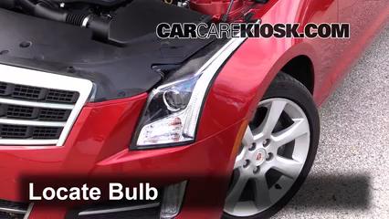 2013 Cadillac ATS Performance 3.6L V6 FlexFuel Luces Luz de carretera (reemplazar foco)