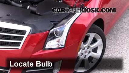 2013 Cadillac ATS Performance 3.6L V6 FlexFuel Luces Luz de estacionamiento (reemplazar foco)