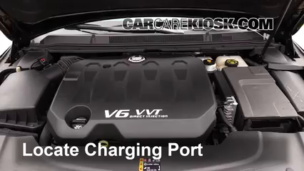2013 Cadillac XTS 3.6L V6 Air Conditioner Recharge Freon