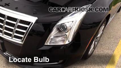 2013 Cadillac XTS 3.6L V6 Luces Luz de giro delantera (reemplazar foco)