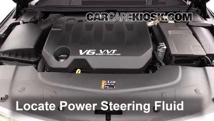 2013 Cadillac XTS 3.6L V6 Líquido de dirección asistida