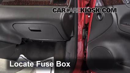 2013 Chevrolet Impala LT 3.6L V6 FlexFuel Fusible (intérieur)