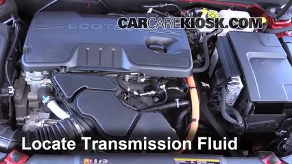2013 Chevrolet Malibu Eco 2.4L 4 Cyl. Transmission Fluid