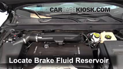 2013 Chevrolet Malibu LTZ 2.5L 4 Cyl. Brake Fluid